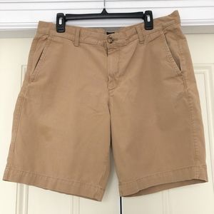 NEW GAP Men's Chino Kahki Shorts Sz 35